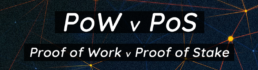 proof of work vs proof of stake banner