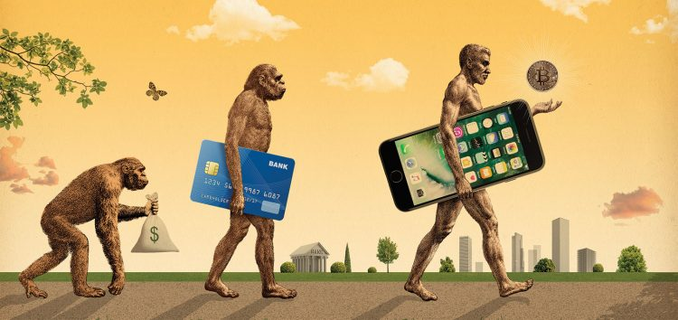 Evolution of money BTC