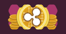 Ripple XRP logo with cool graphic
