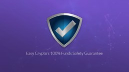 easy crypto funds safety Guarantee logo preview image announcement