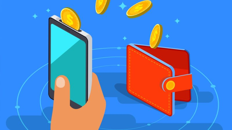 Sending bitcoin from your phone to your wallet