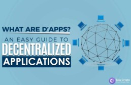 what are distributed applications preview image with easy crypto logo
